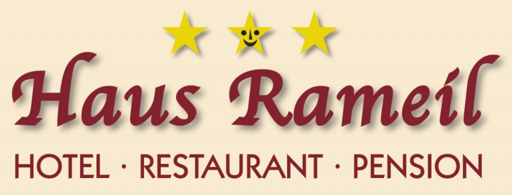 """Logo """"Haus Rameil"""""""