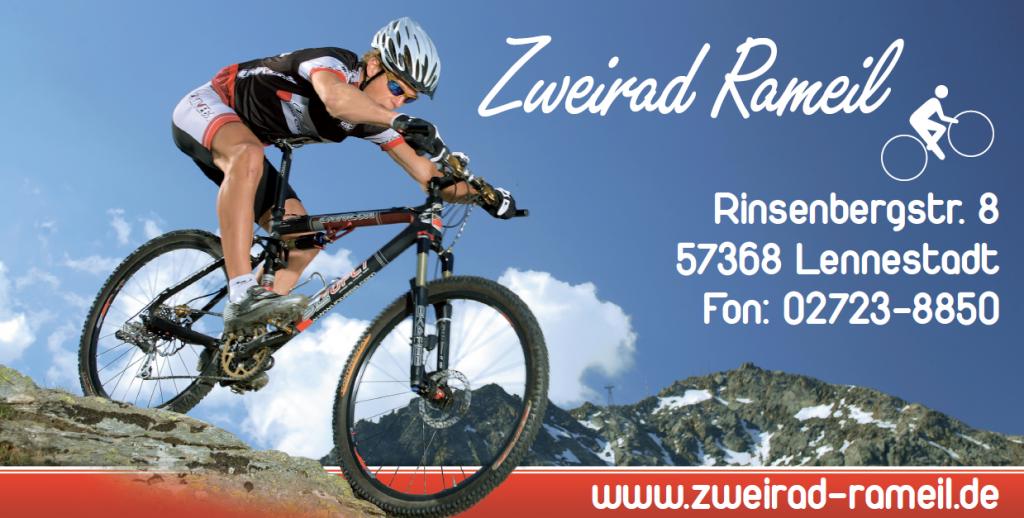 """Logo """"Zweirad Rameil"""""""