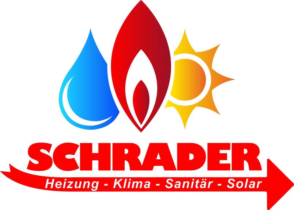 """Logo """"Schrader Heizung-Klima-Sanitär-Solar"""""""