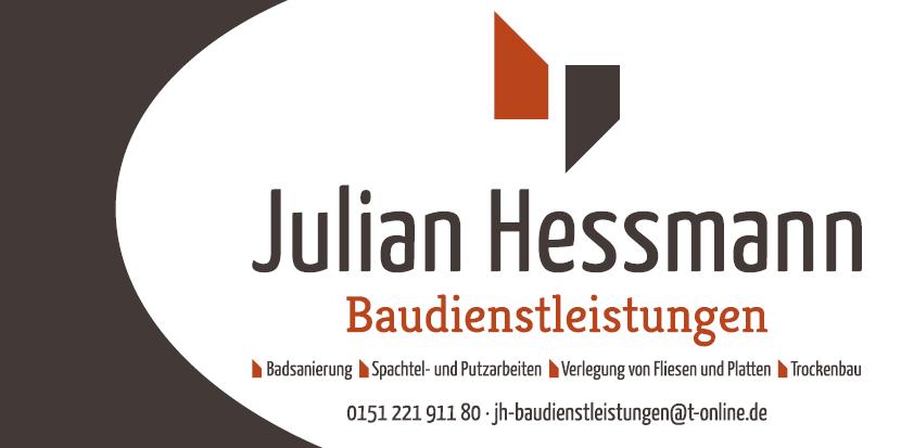 """Logo """"Julian Hessmann Baudienstleistungen"""""""