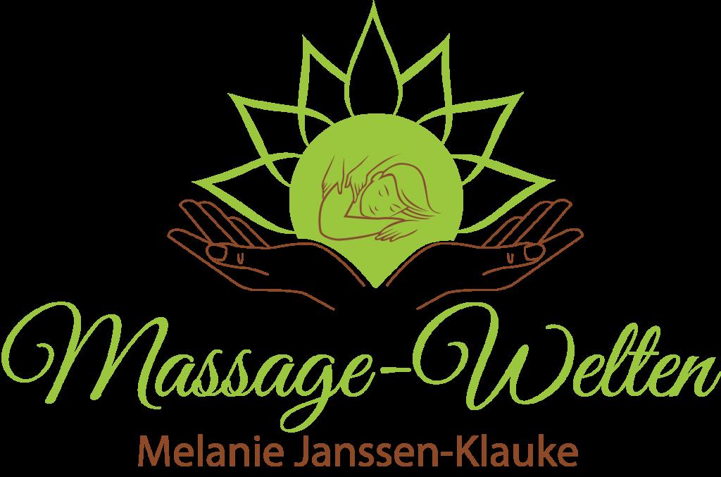 """Logo """"Massage Welten"""""""