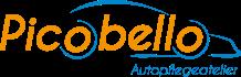 "Logo ""Picobello Autopflegeatelier"""